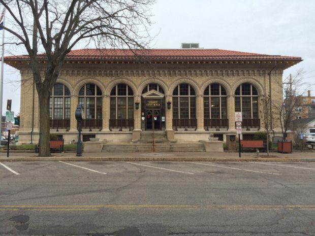 LaPorte City Hall stock