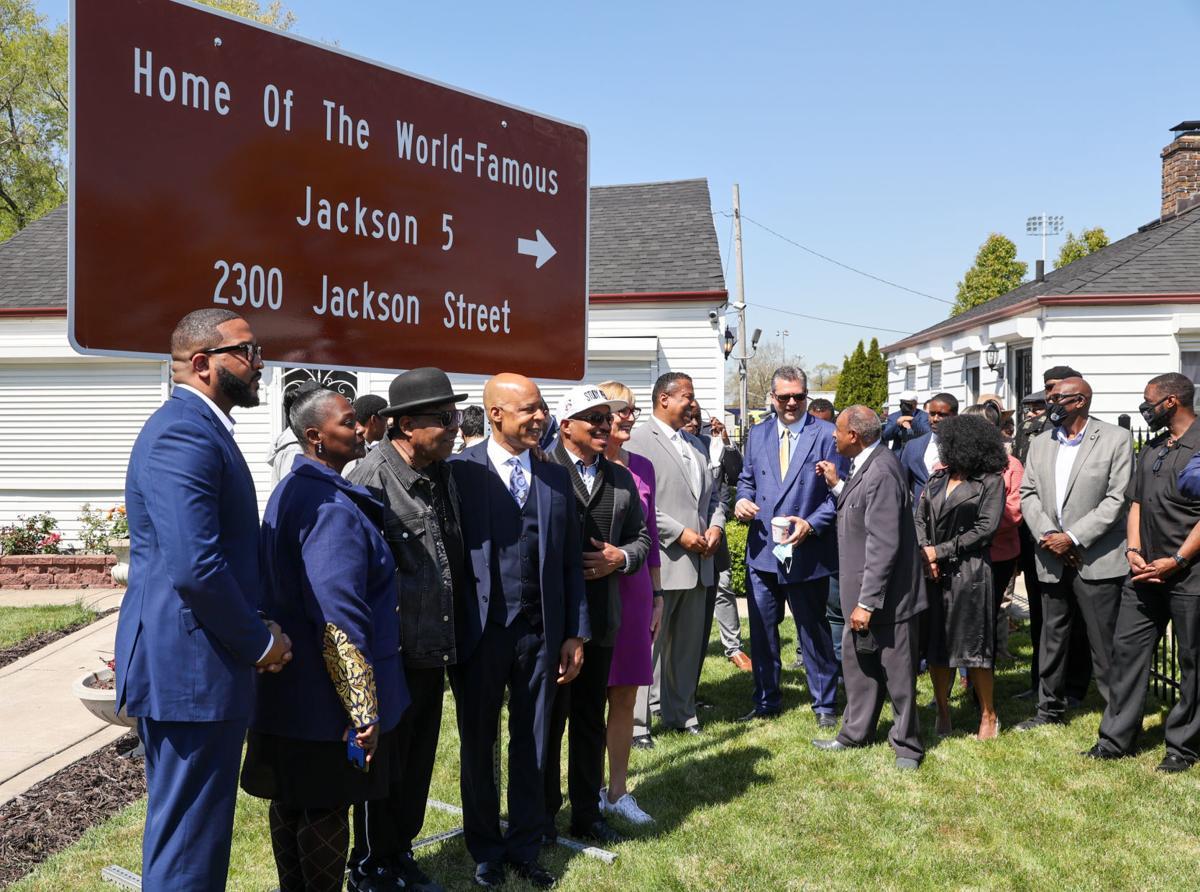 Jackson home sign dedication