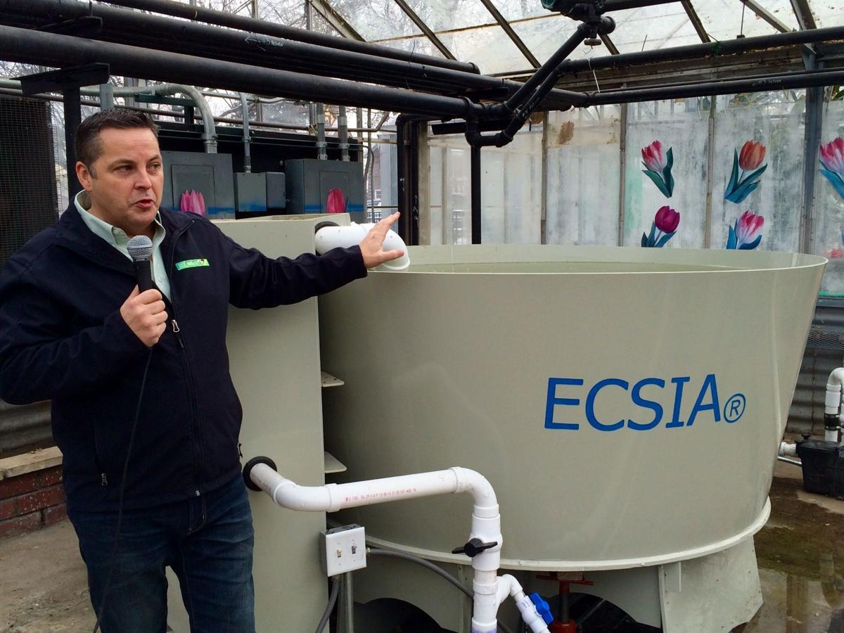 EC greenhouse to become organic garden for the needy