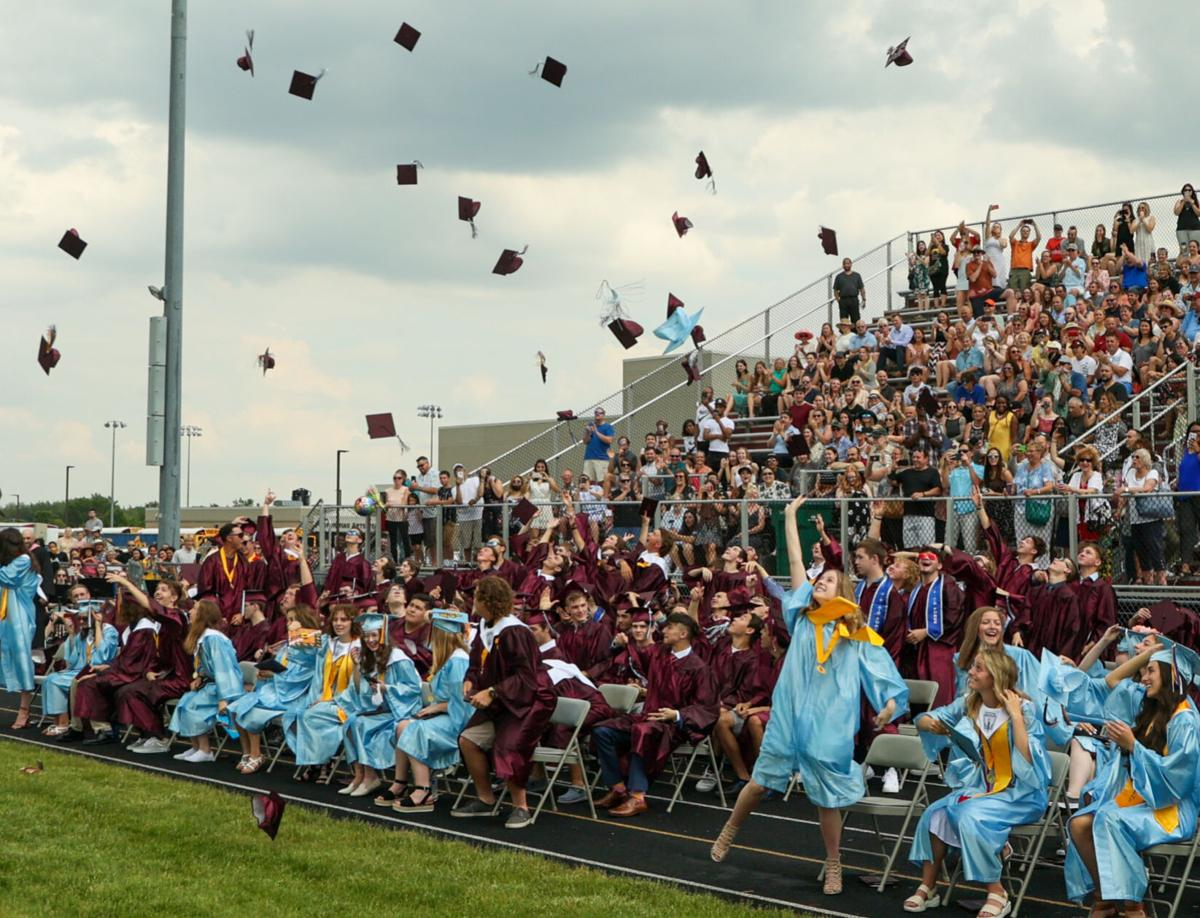Hanover Central High School's commencement