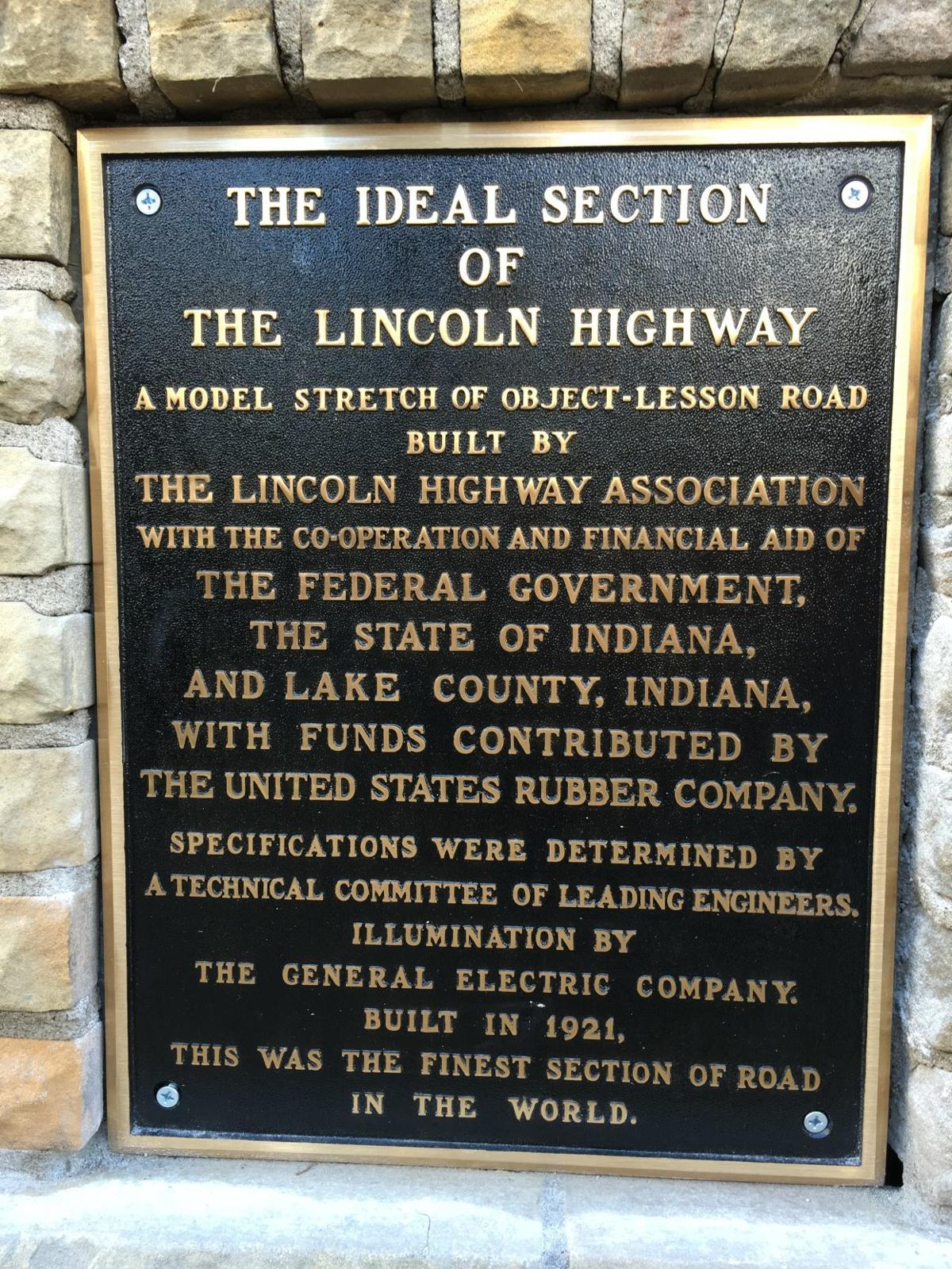 1.5-mile of 'Ideal' section of Lincoln Highway immortalized