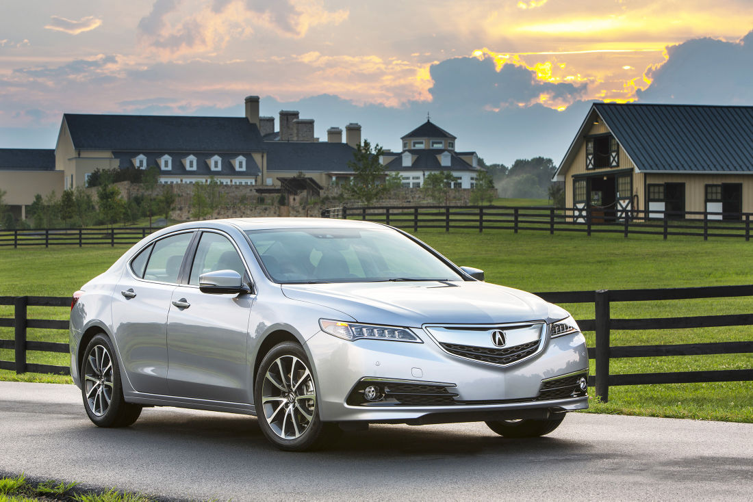 Acura Advances With TLX: All New Mid Size Car Offers Impressive Technology,