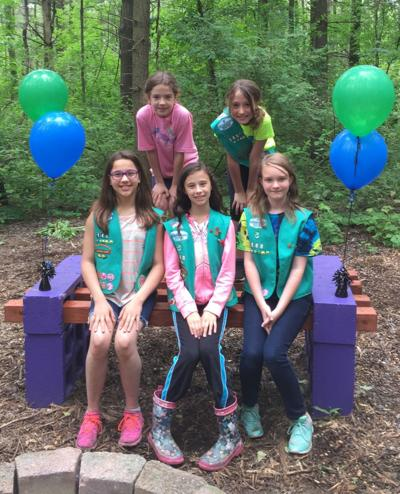 Junior Girl Scouts complete Bronze Award project