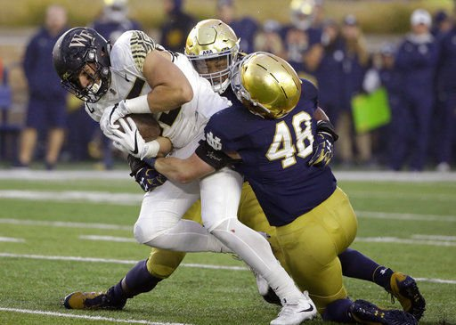 No. 3 Notre Dame eyes defensive reset in time for Hurricanes