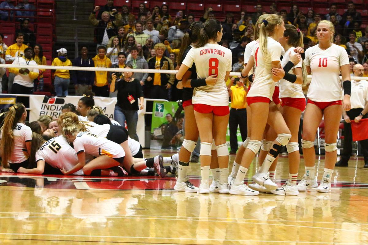 Gallery: Volleyball Class 4A State Finals - Crown Point vs. Avon