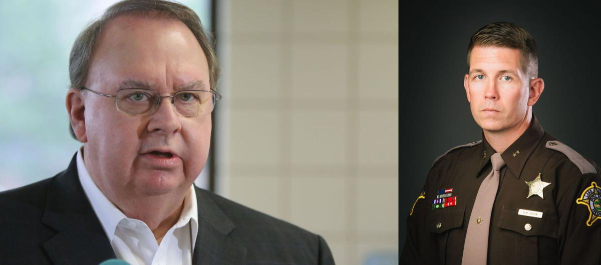 Former Lake Sheriff John Buncich and Commander Dennis Matthew Eaton