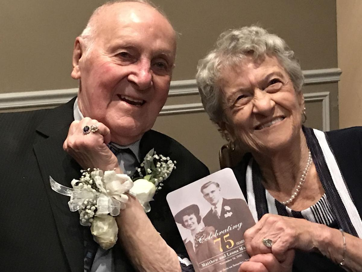 Happily married for 75 years