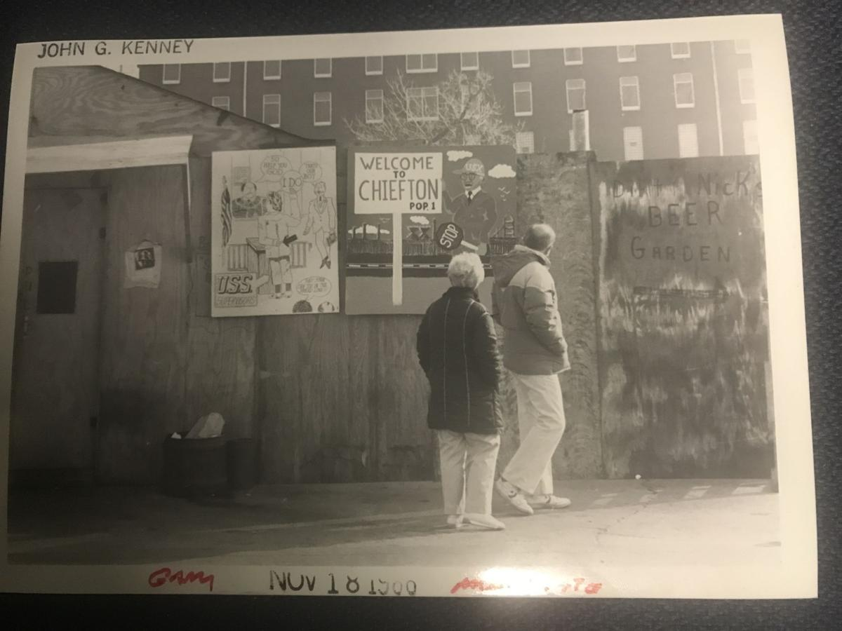 Scenes from the 1986 steel strike/lockout