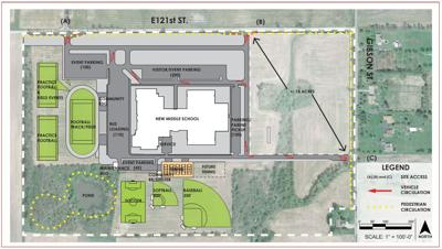 New Crown Point middle school set to open in Winfield