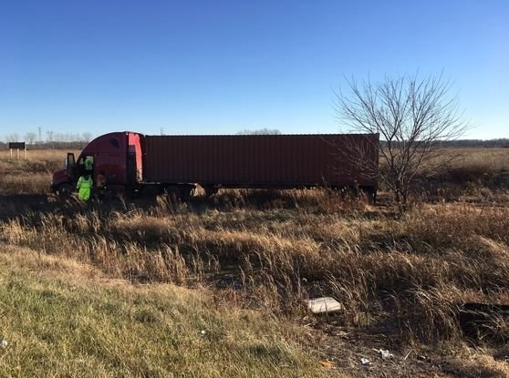 Semi driver dies after driving off I-94 near Michigan City