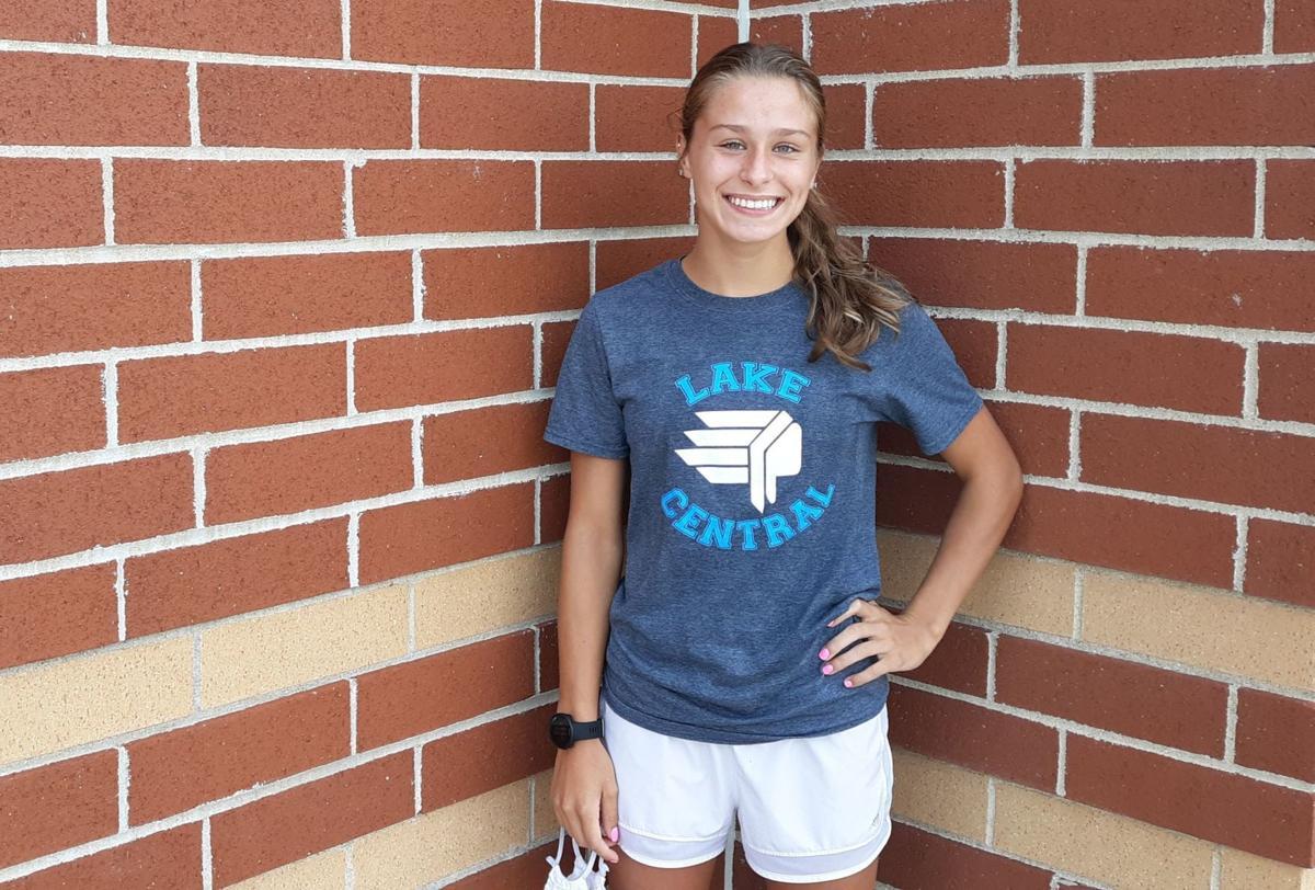 Lake Central sophomore Natalie Kransky