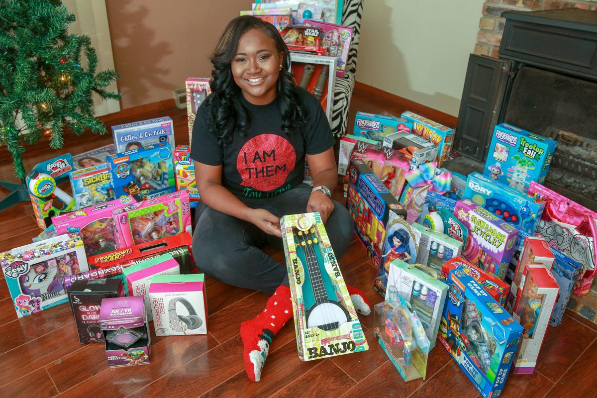 Aaliyah Stewart toy giveaway