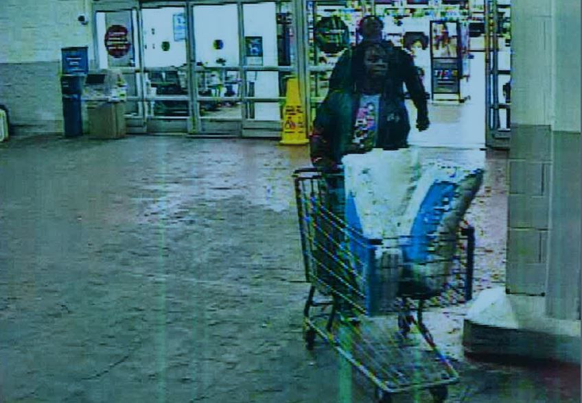Police seek identification of Walmart theft suspects