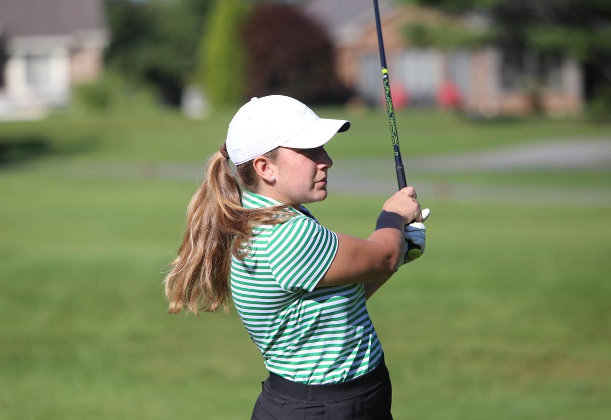 girls golf sectional, Valpo