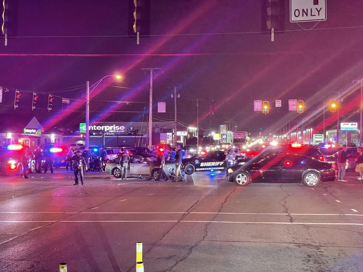 Indy Blvd crash