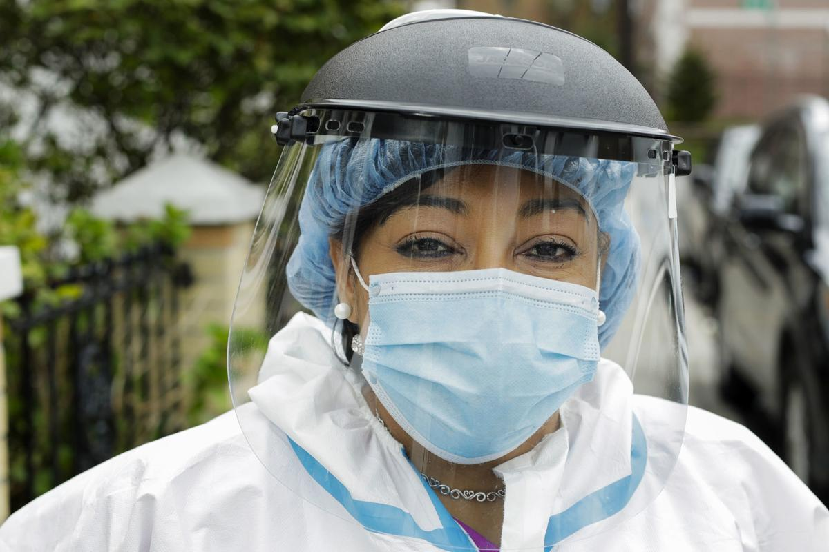 Virus Outbreak Front Line Workers
