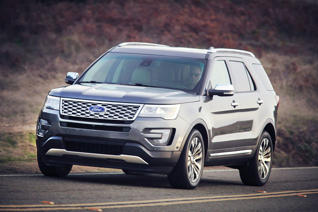 Ford Explorer sales up by 6.2 percent this year