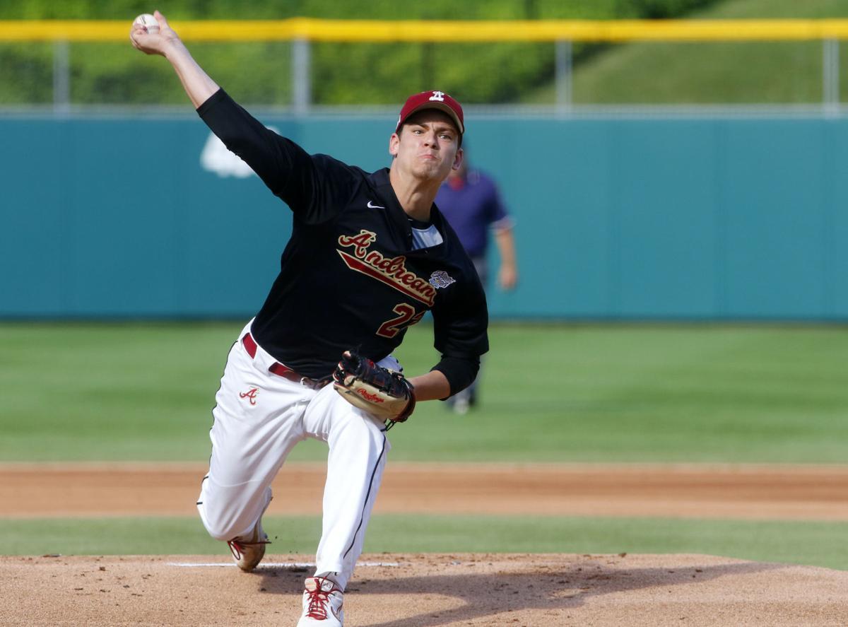 Michael Doolin, Andrean, baseball