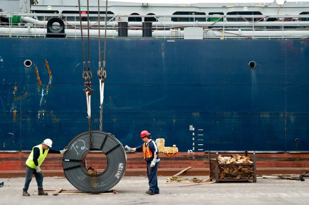 Steel import application decline 8.8 percent in November