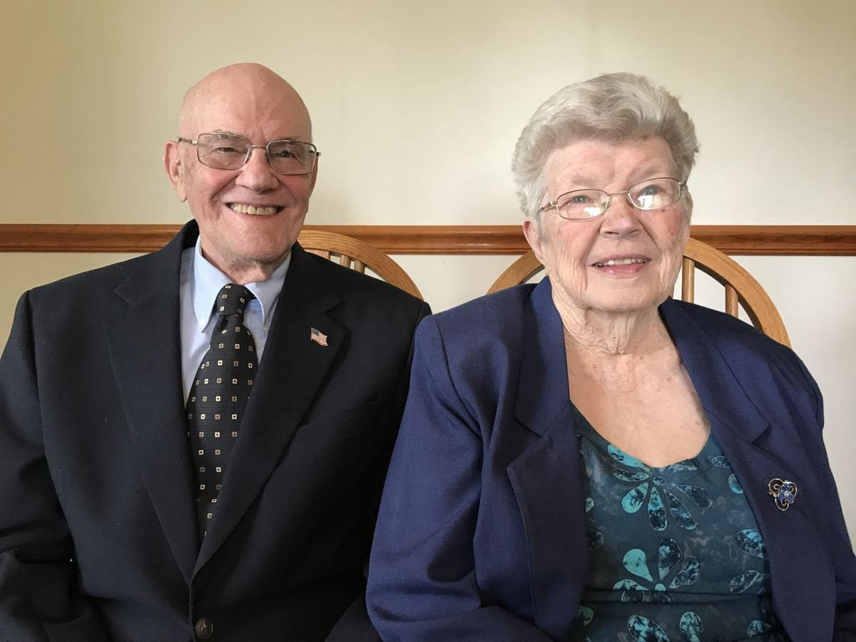 James and Cora Koons celebrate 70 years of marriage