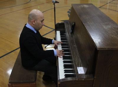 Music and inspiration fill St. John the Evangelist School
