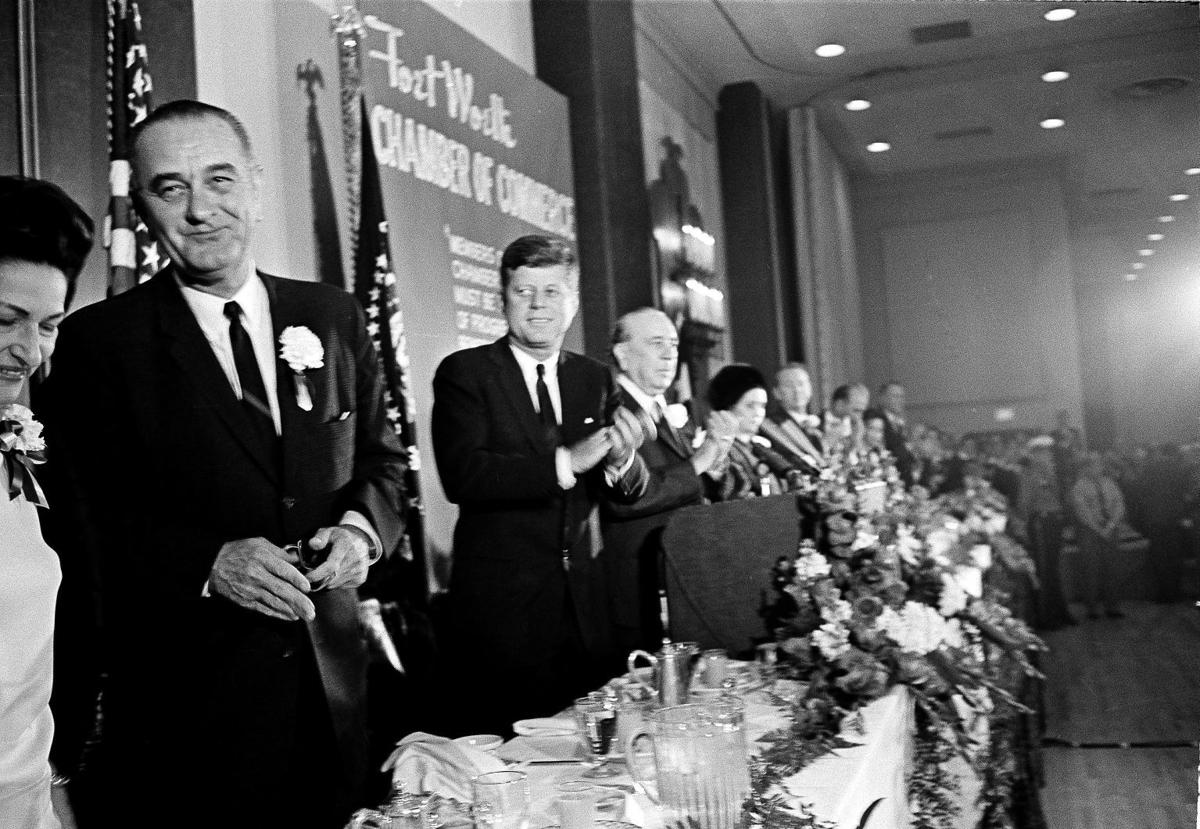 the assassination of president kennedy and the elevation of lyndon johnson Kennedy's assassination created moments of chaos in the federal government that afternoon vice president lyndon johnson was the national constitution center.