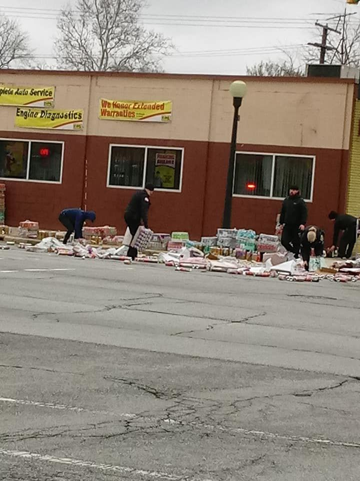 Carbonated chaos spills into Hammond street