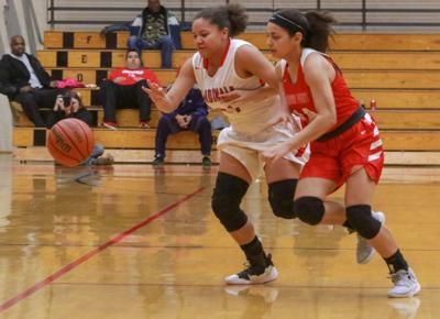 Girls basketball - Crown Point and East Chicago Central