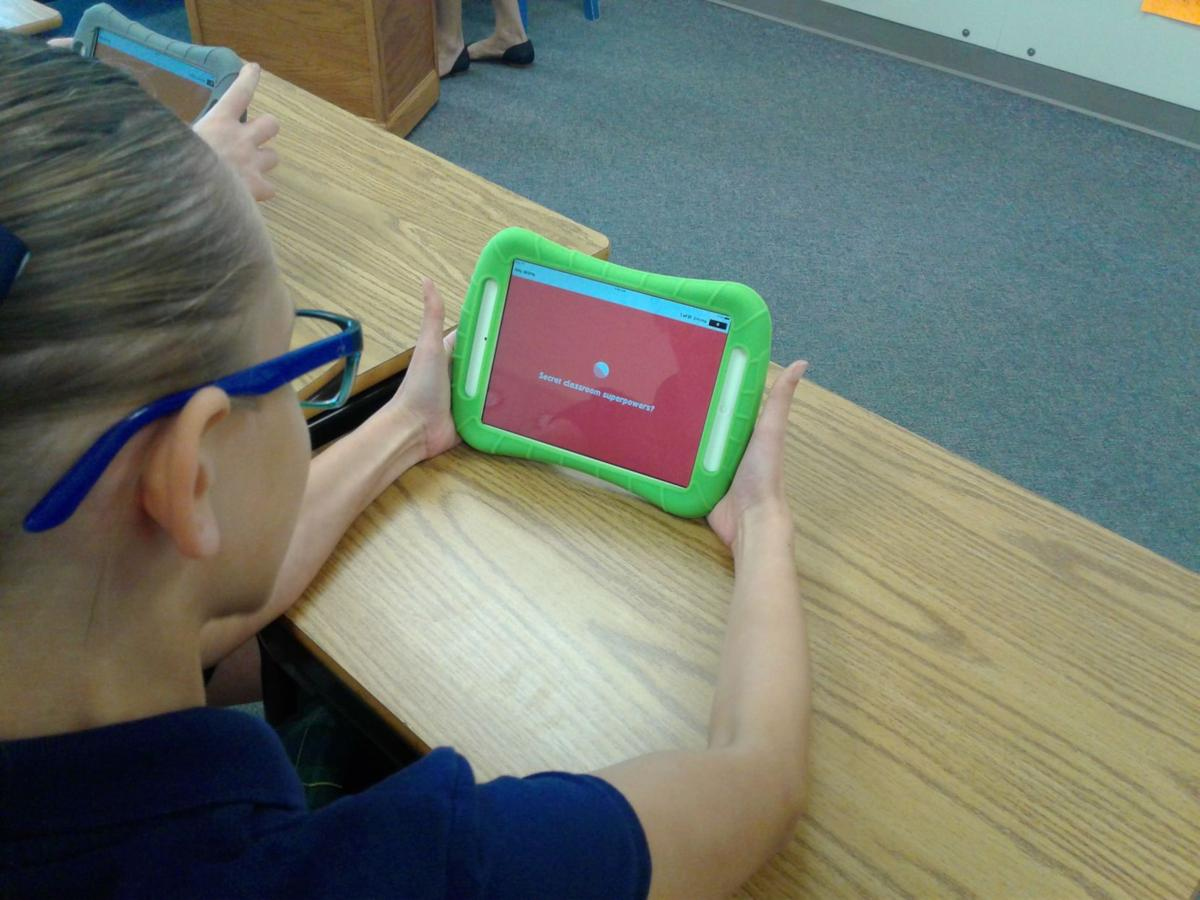 New technology at St. Patrick School