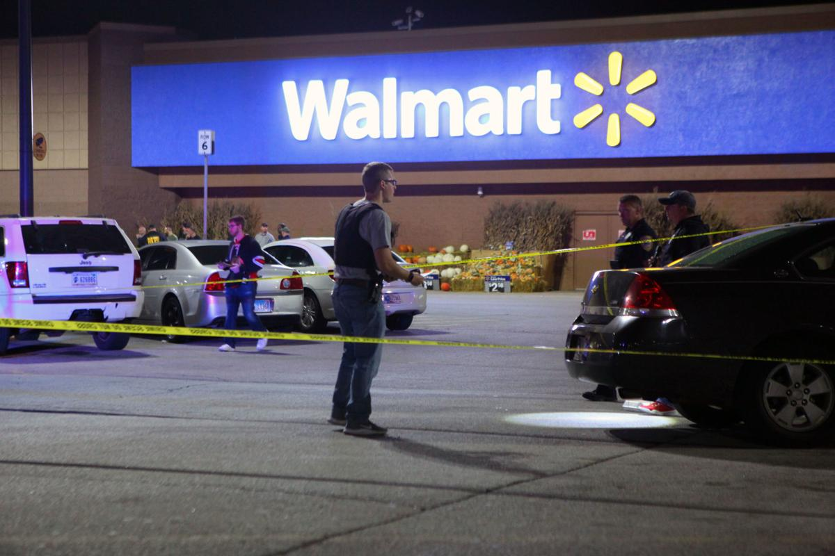 Shooting at Walmart - parking lot