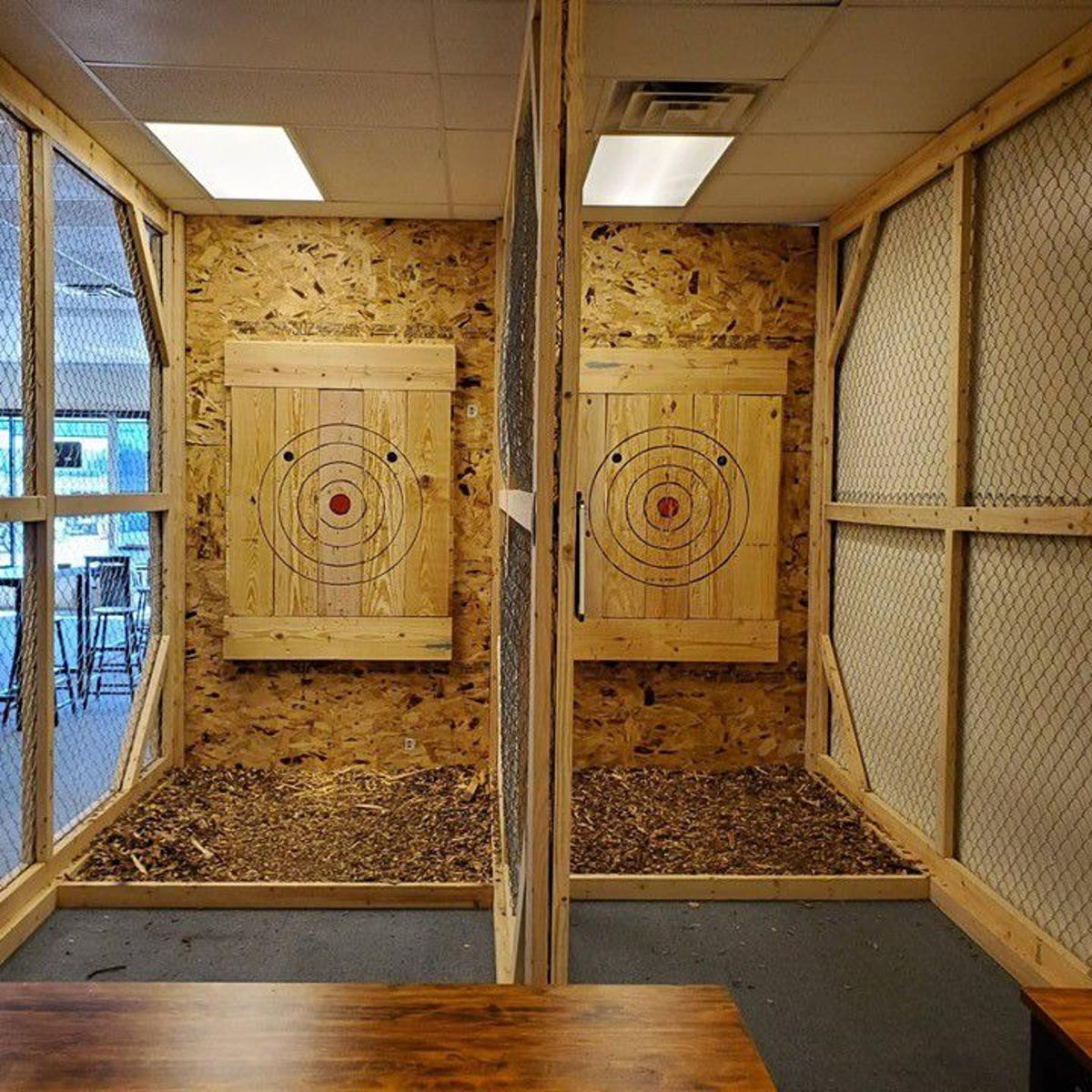 What S Not To Love About Throwing Weapons Hatchet Throwing Comes To Region Northwest Indiana Business Headlines Nwitimes Com