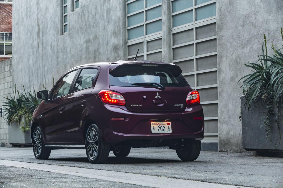 The 2017 mitsubishi mirage is the most environmentally friendly non hybrid car averaging 37 43 mpg and emitting 226 grams of co2 per mile