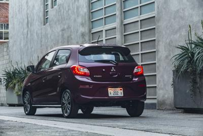 The 2017 Mitsubishi Mirage Is Most Environmentally Friendly Non Hybrid Car Averaging 37 43 Mpg And Emitting 226 Grams Of Co2 Per Mile