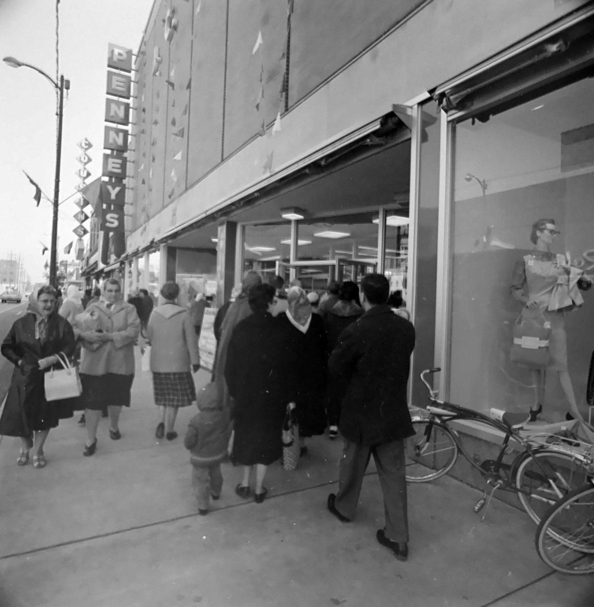 JC Penney's downtown Hammond store