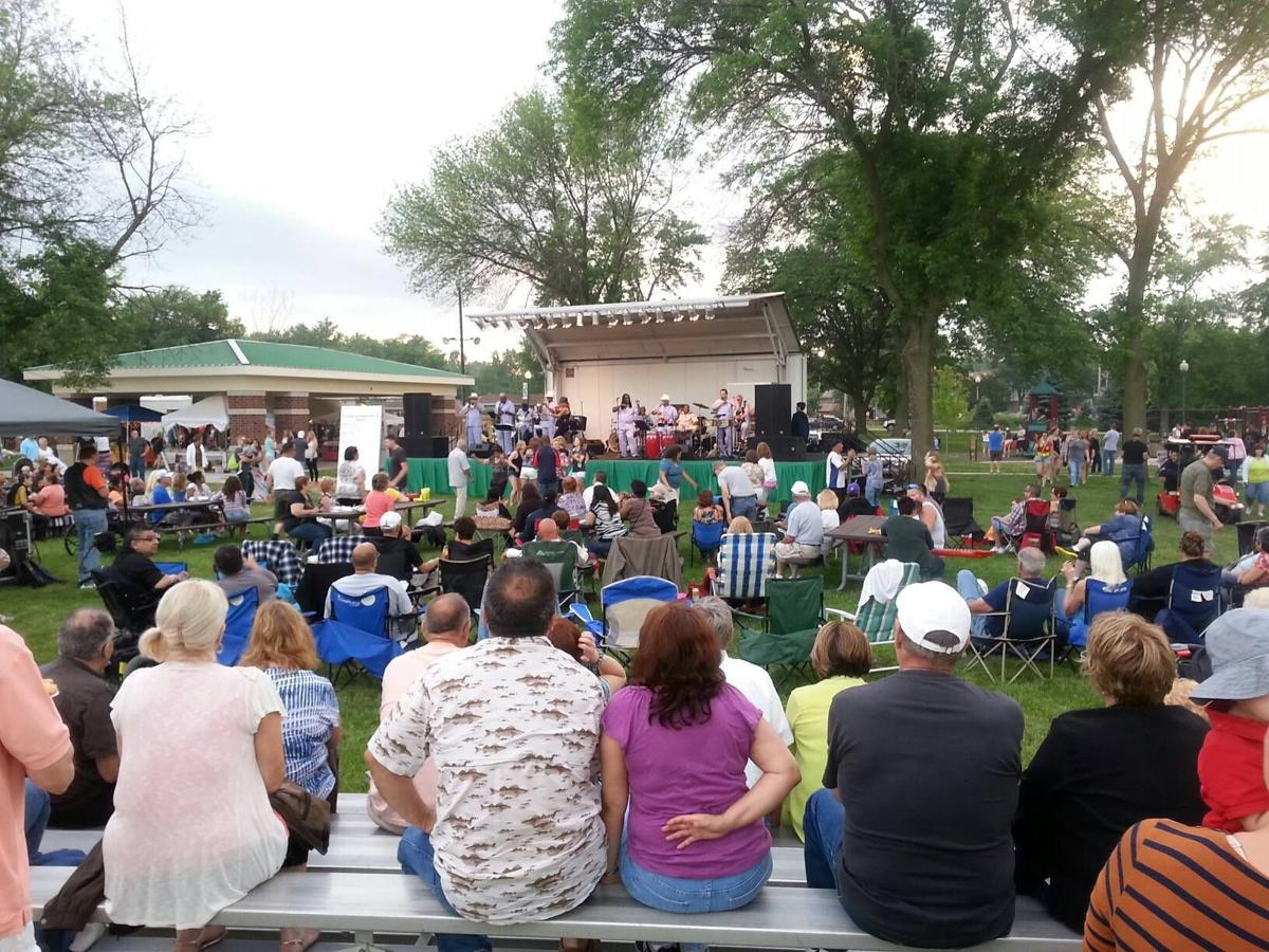 Schererville offers outdoor evening concerts and events
