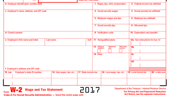A Quick Guide To Your W 2 Tax Form Markets And Stocks Nwitimes