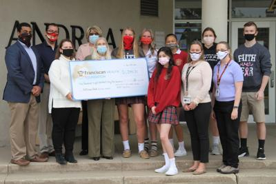 HEALTH BRIEFS: Andrean students donate to Franciscan Health Breast Care Center