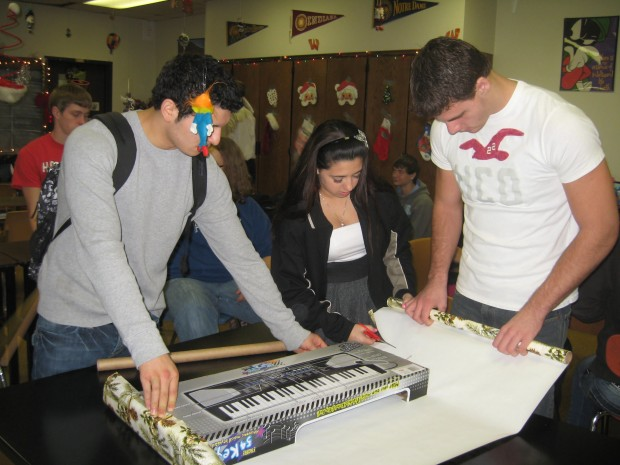 Portage High School students get lesson on giving