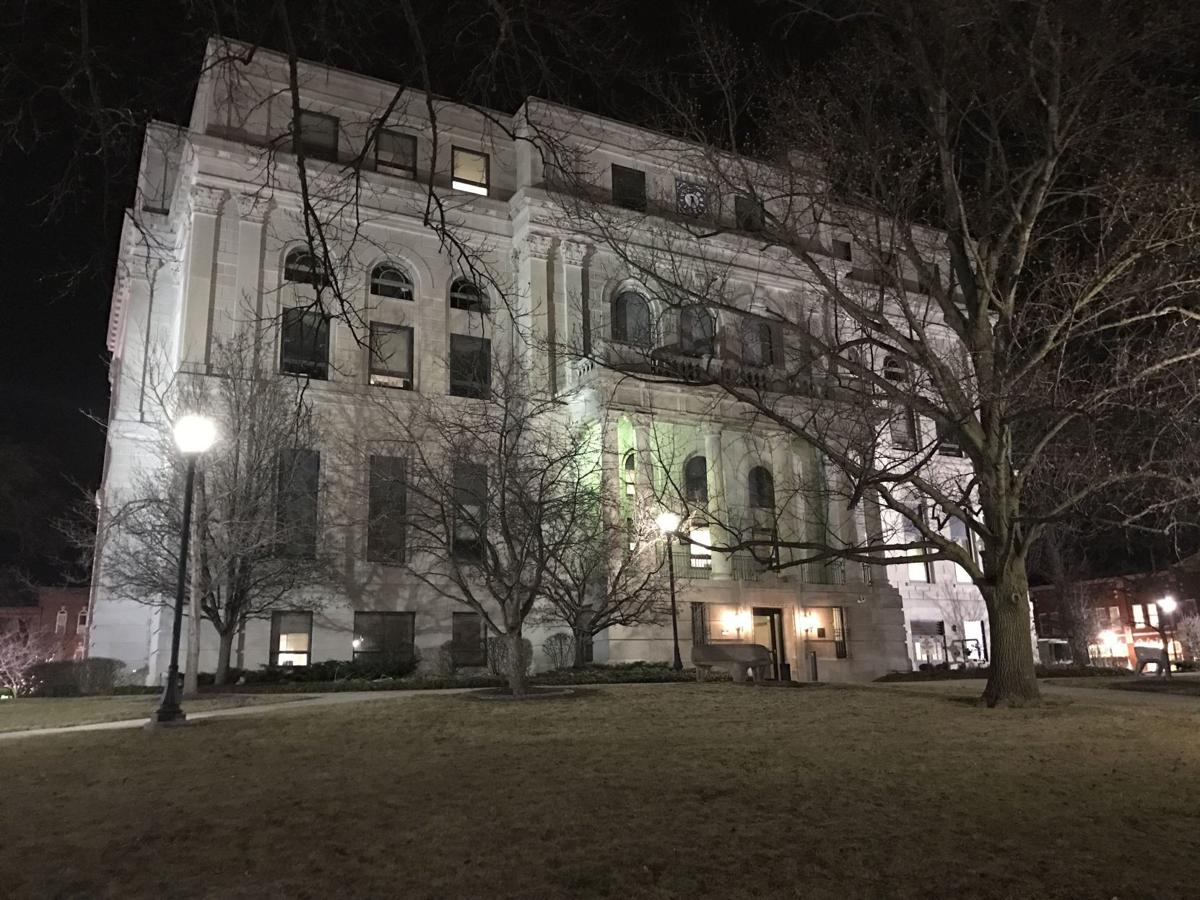 Porter County Courthouse stock