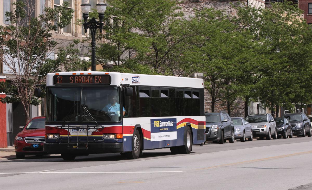 Gary Public Transportation buses looking at potential service changes