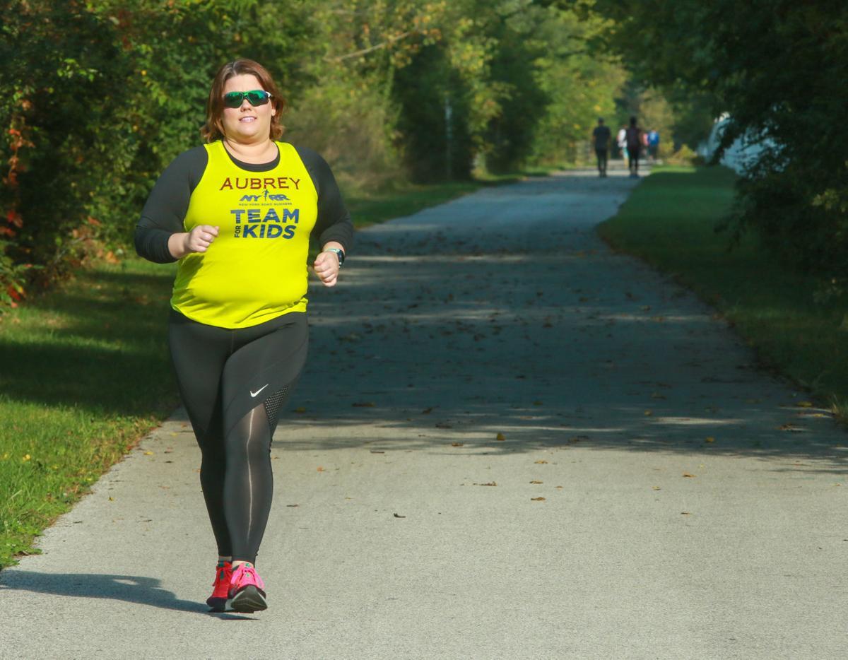 Crown Point nurse Aubrey Ness is preparing to run the New York City Marathon