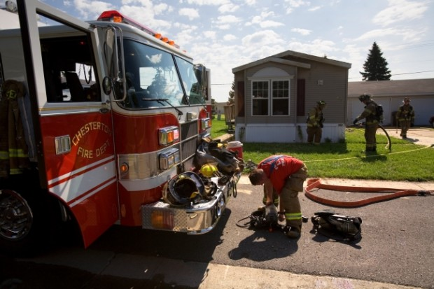 Blaze engulfs home in Liberty Township | Porter County News