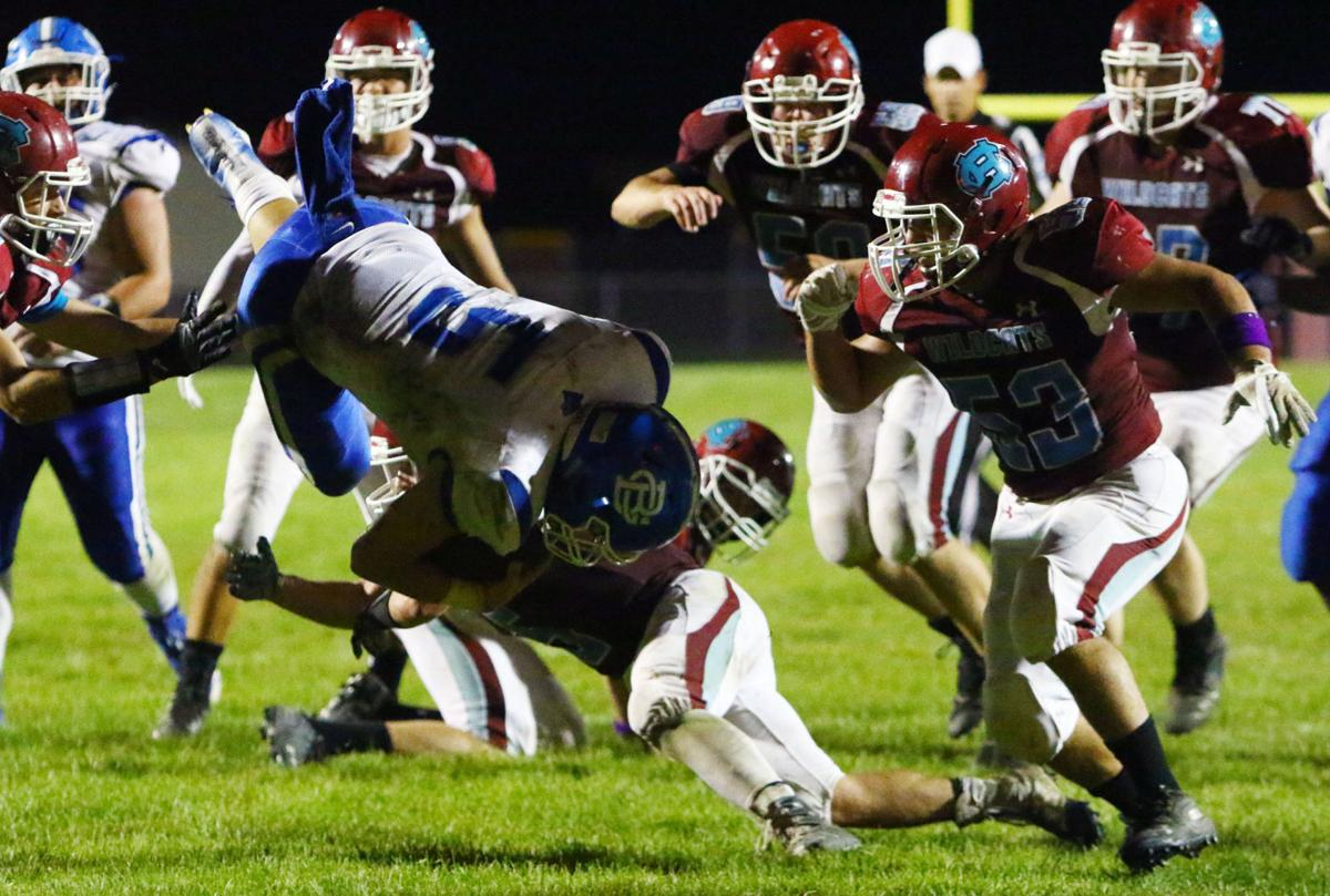 Boone Grove at Hanover Central football
