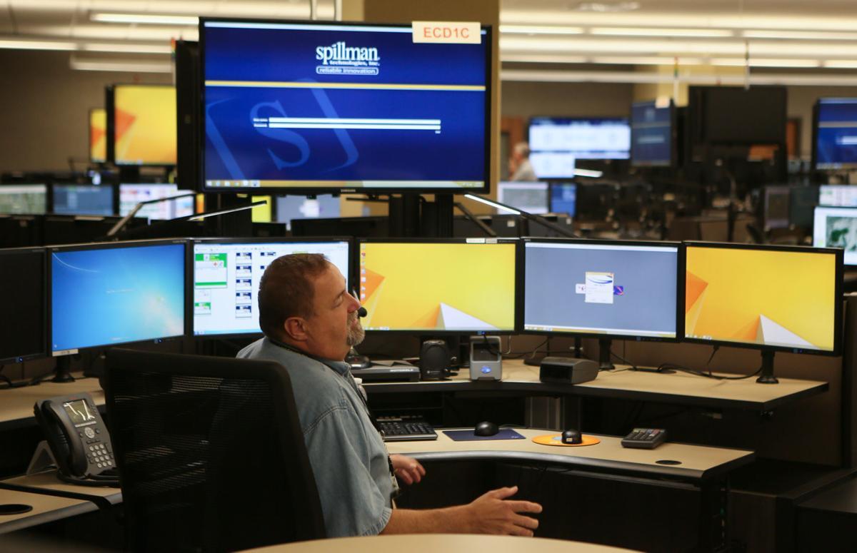 Lake E-911 Center shows public dispatch system