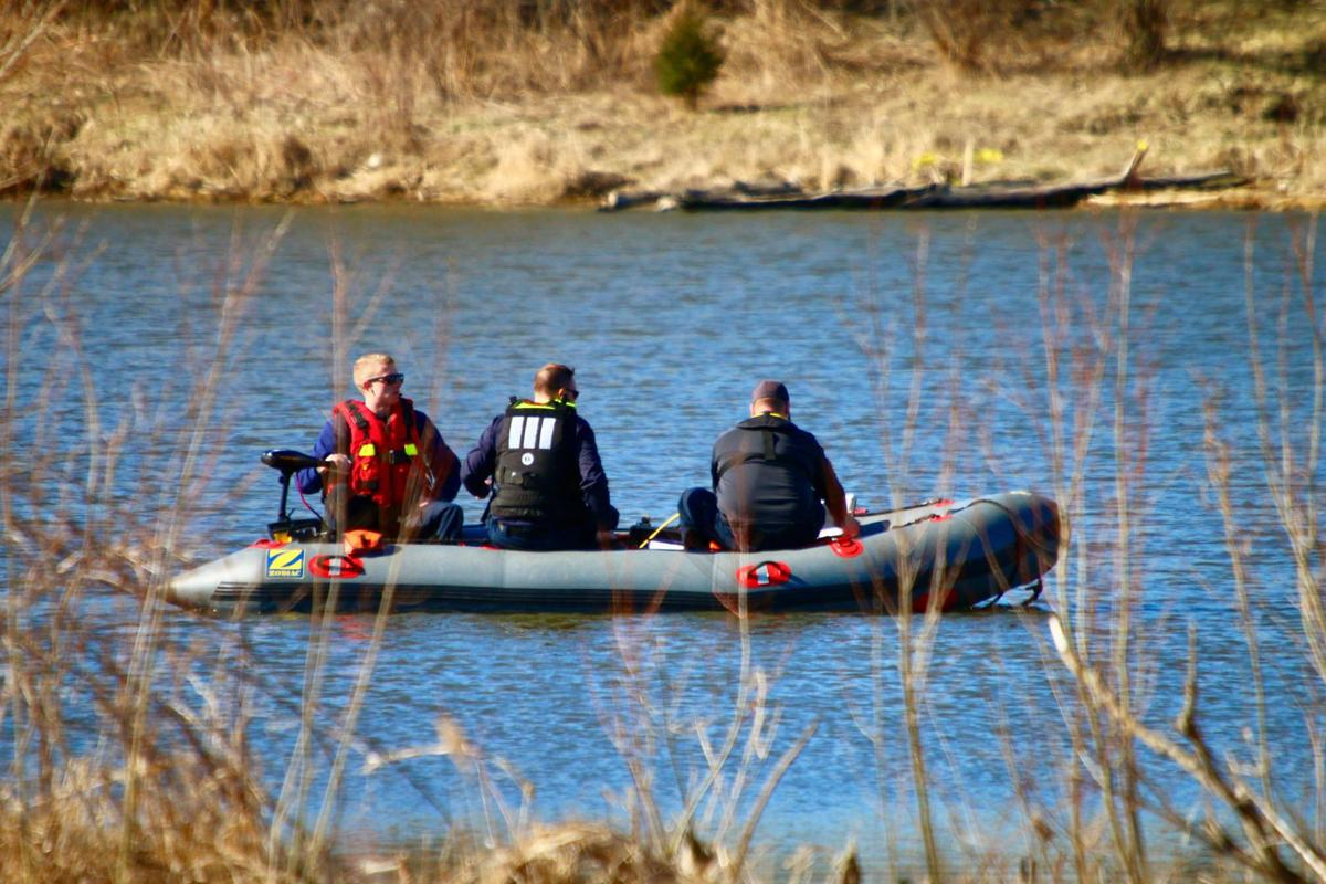 Search continues after human foot found in Crown Point pond