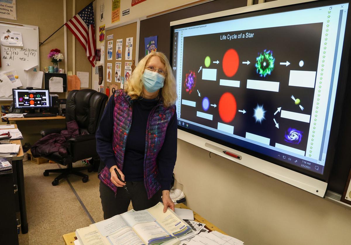 Teacher Donna Spivak says teachers need the COVID vaccination