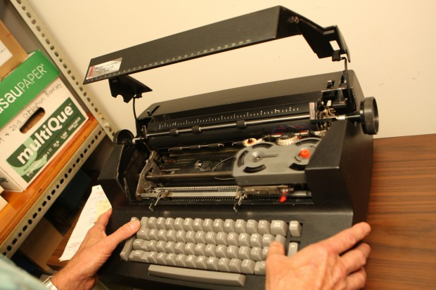 Experts predicted the phasing out of manual typewriters