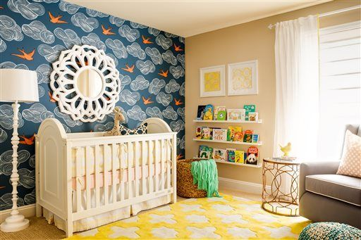 Right At Home New Nursery Décor With Style