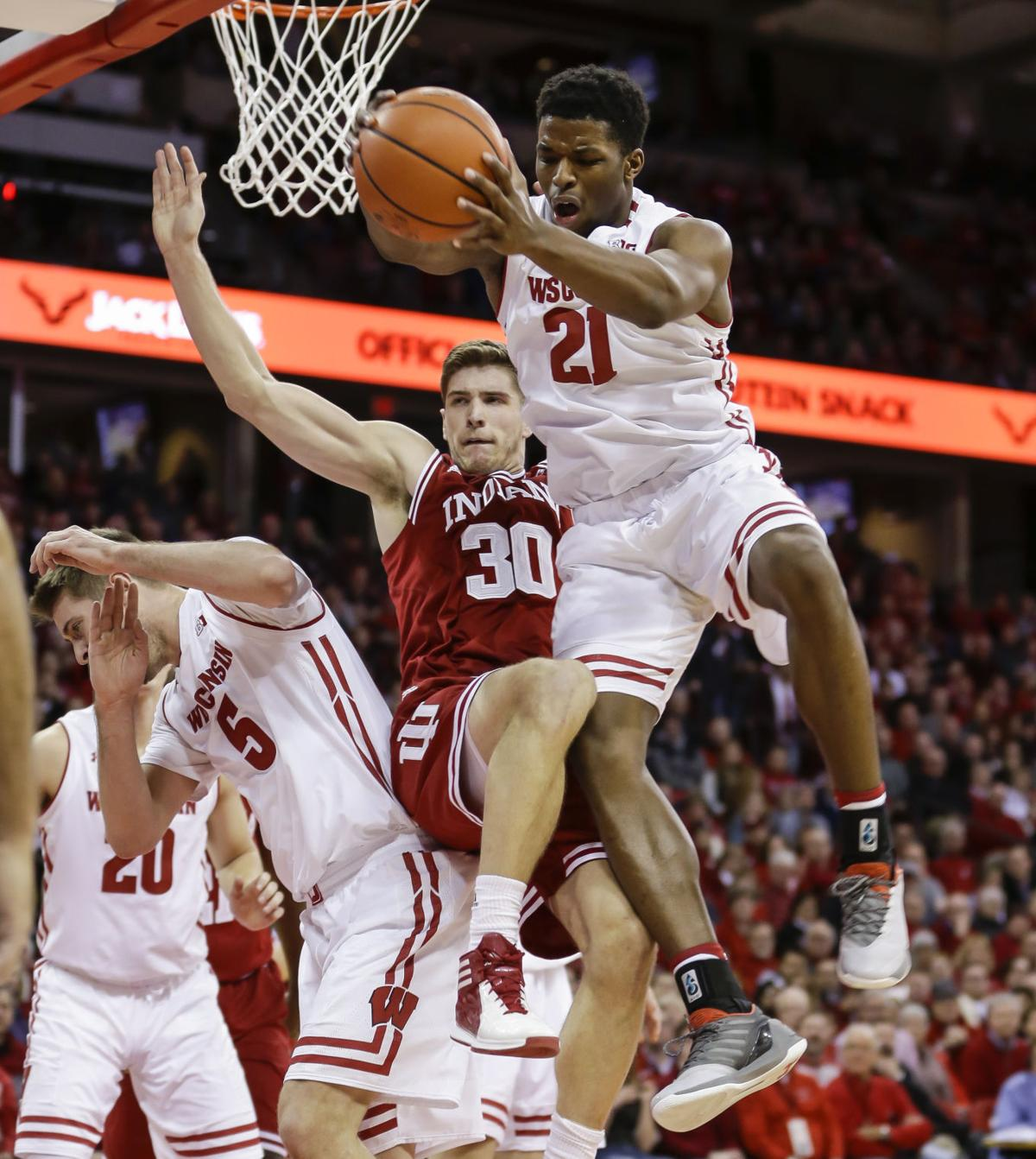 Indiana Wisconsin Basketball