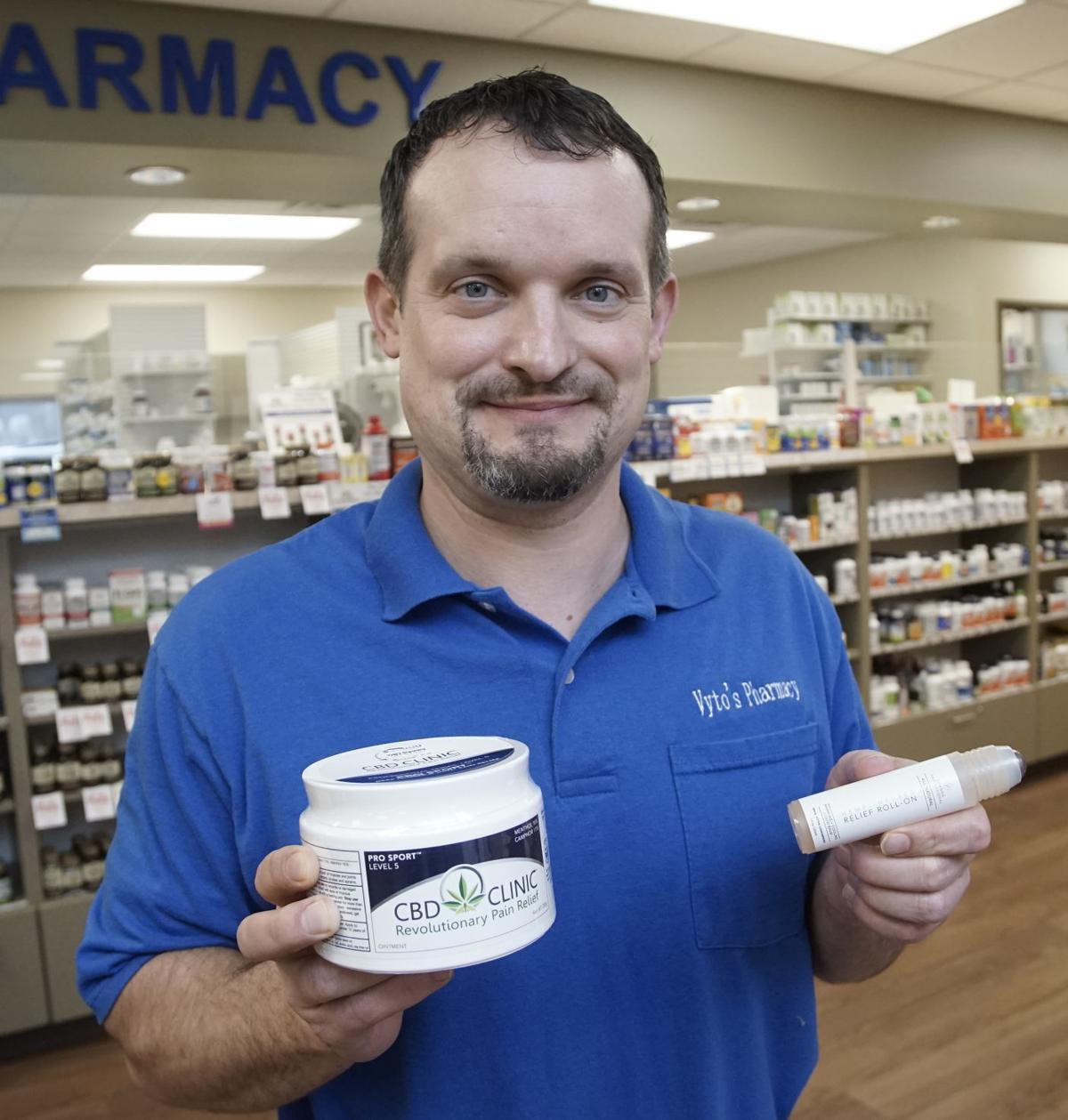 Region experts use hemp-based CBD oil to ease pain, anxiety, sleep issues
